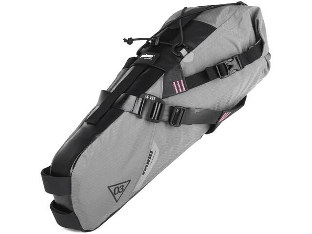 WOHO X-Touring Bolsa Seca para sillín M, honeycomb iron grey